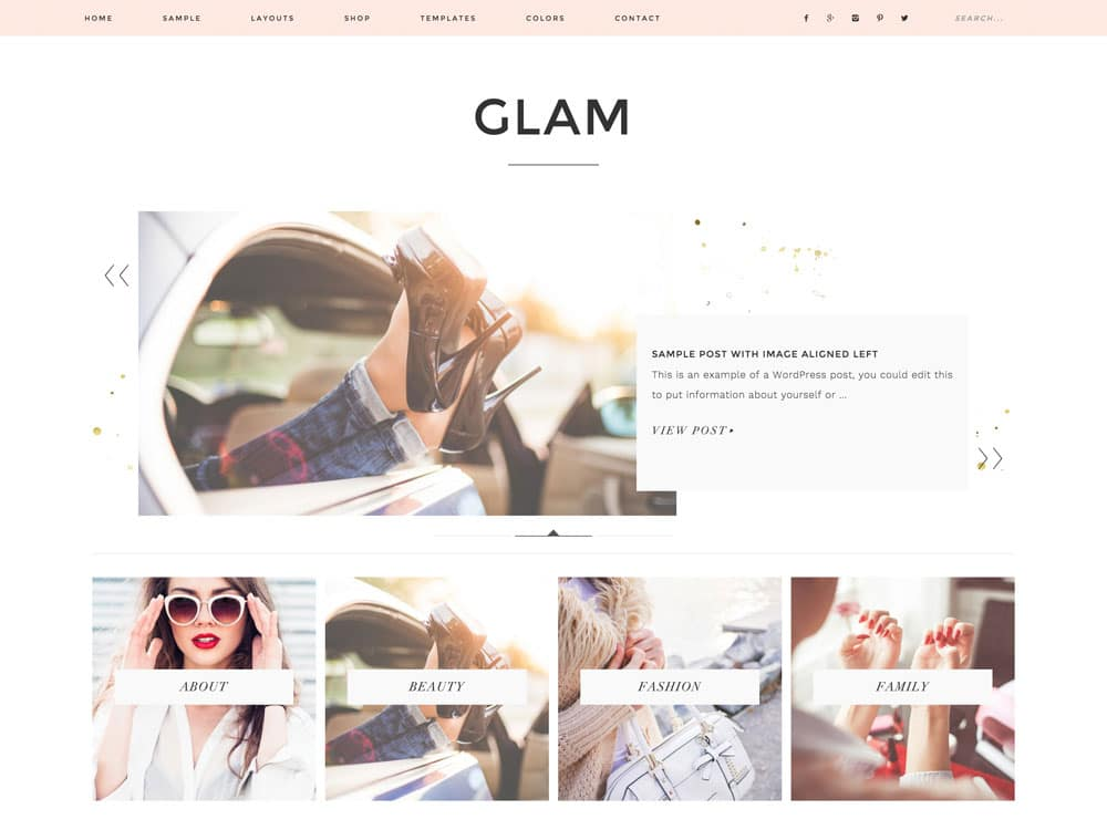Download Fashion Blog WordPress Theme Nulled