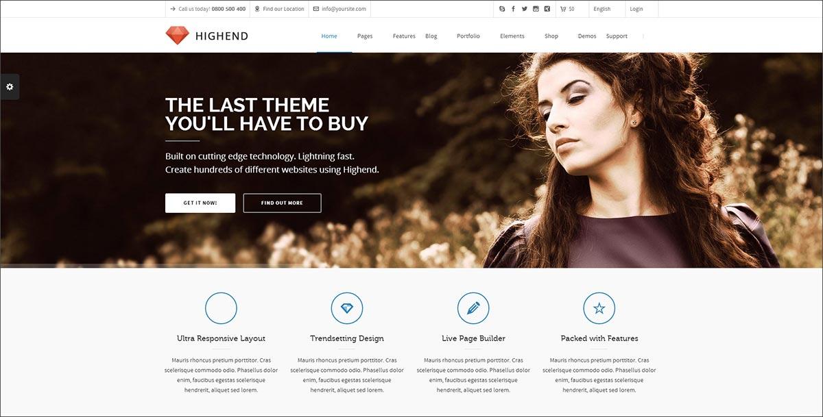 Download Highend WordPress Theme Nulled