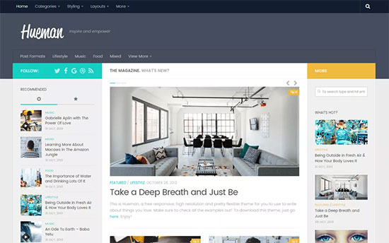 Download WordPress Theme Blog Nulled