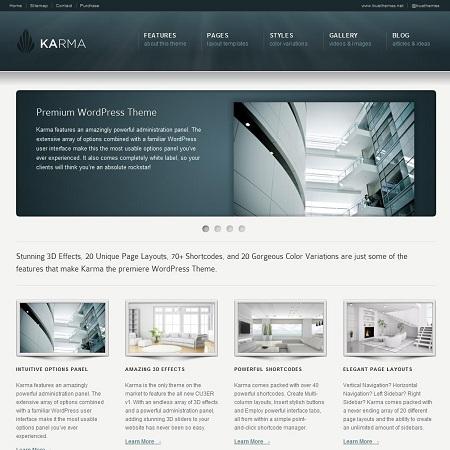 Download Karma WordPress Theme Nulled