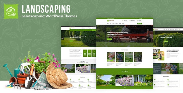Download Landscaping WordPress Theme Nulled