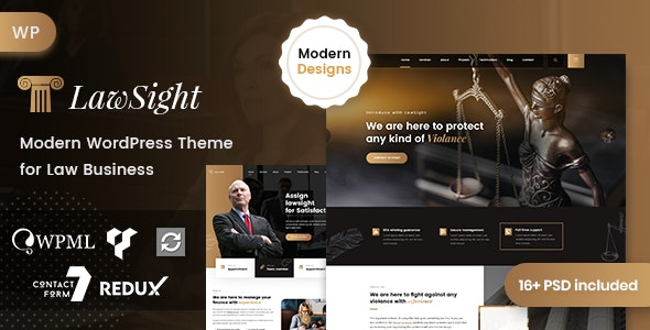 Download Lawyer WordPress Theme Nulled