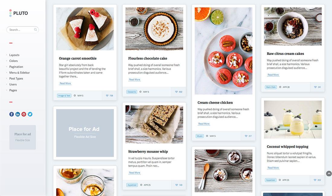 Download Pinterest WordPress Theme Nulled