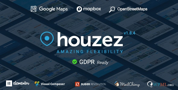 Download Houzez WordPress Theme Nulled