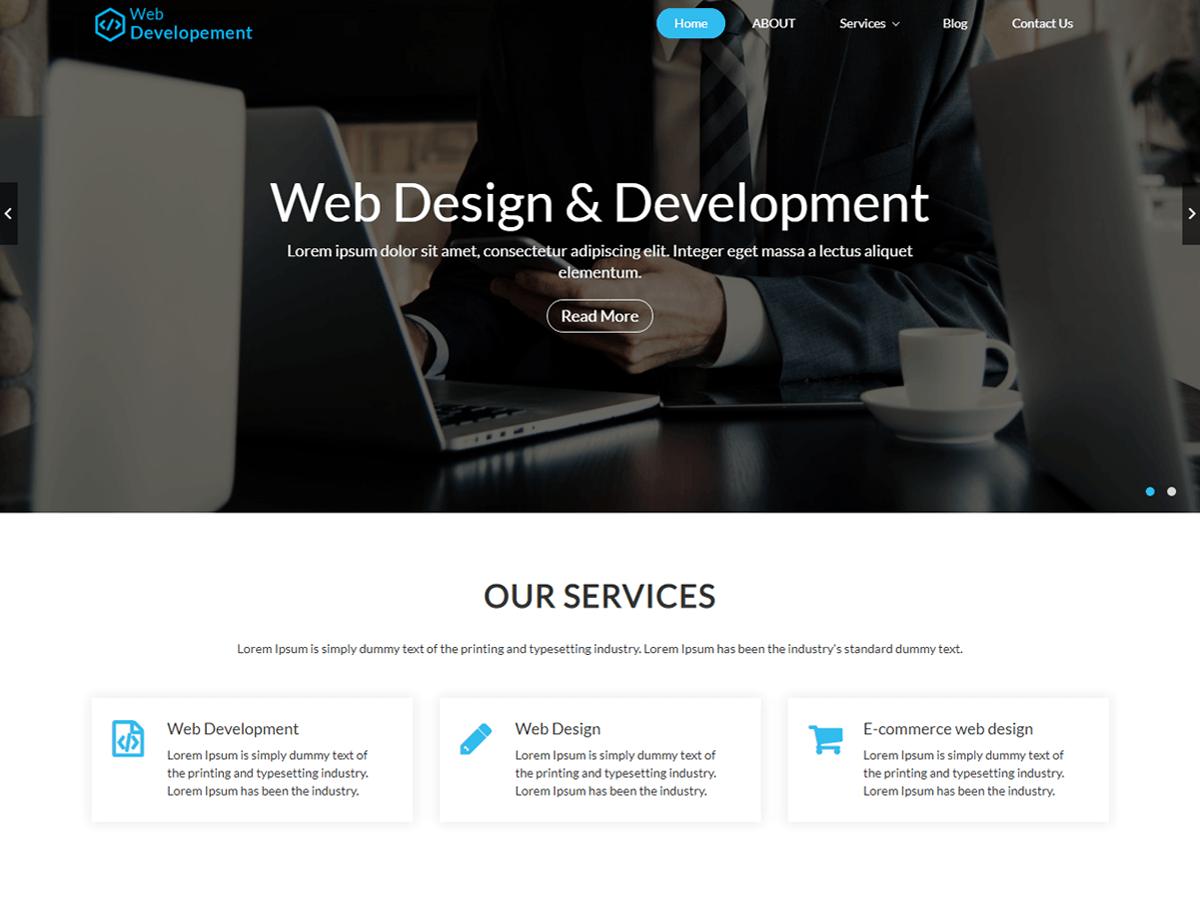 Download Web Design WordPress Theme Nulled