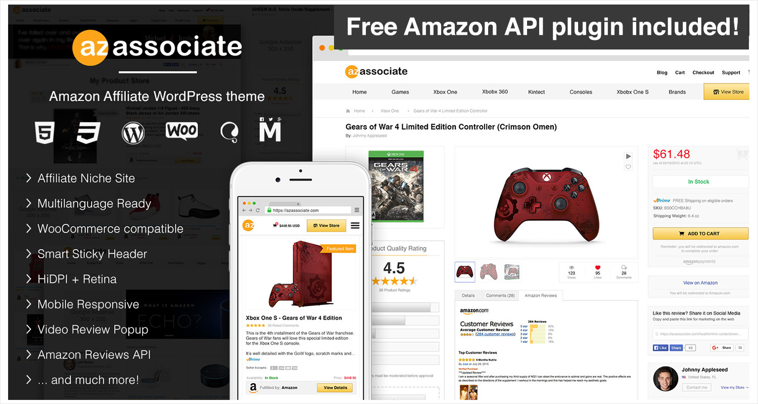 Download Amazon Affiliate WordPress Theme Nulled