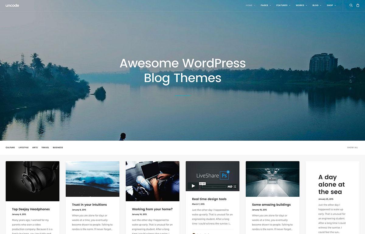 Download Blog WordPress Theme Nulled