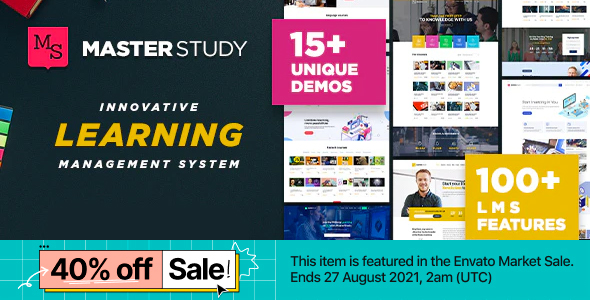 Download Education WordPress Theme – Masterstudy Nulled